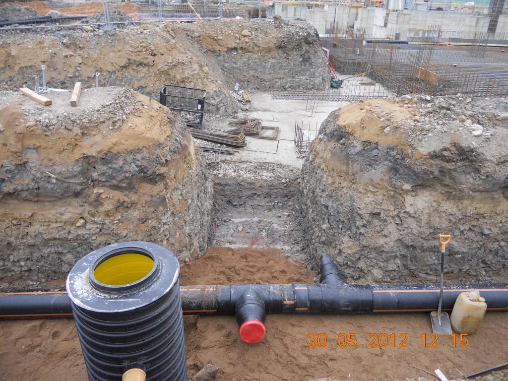 Narva elektrijaama trasside ehitus